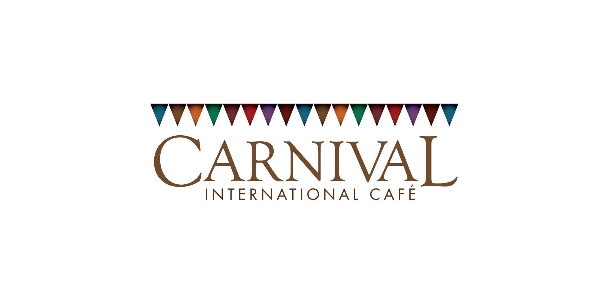 Carnival International Cafe with an international theme buffet