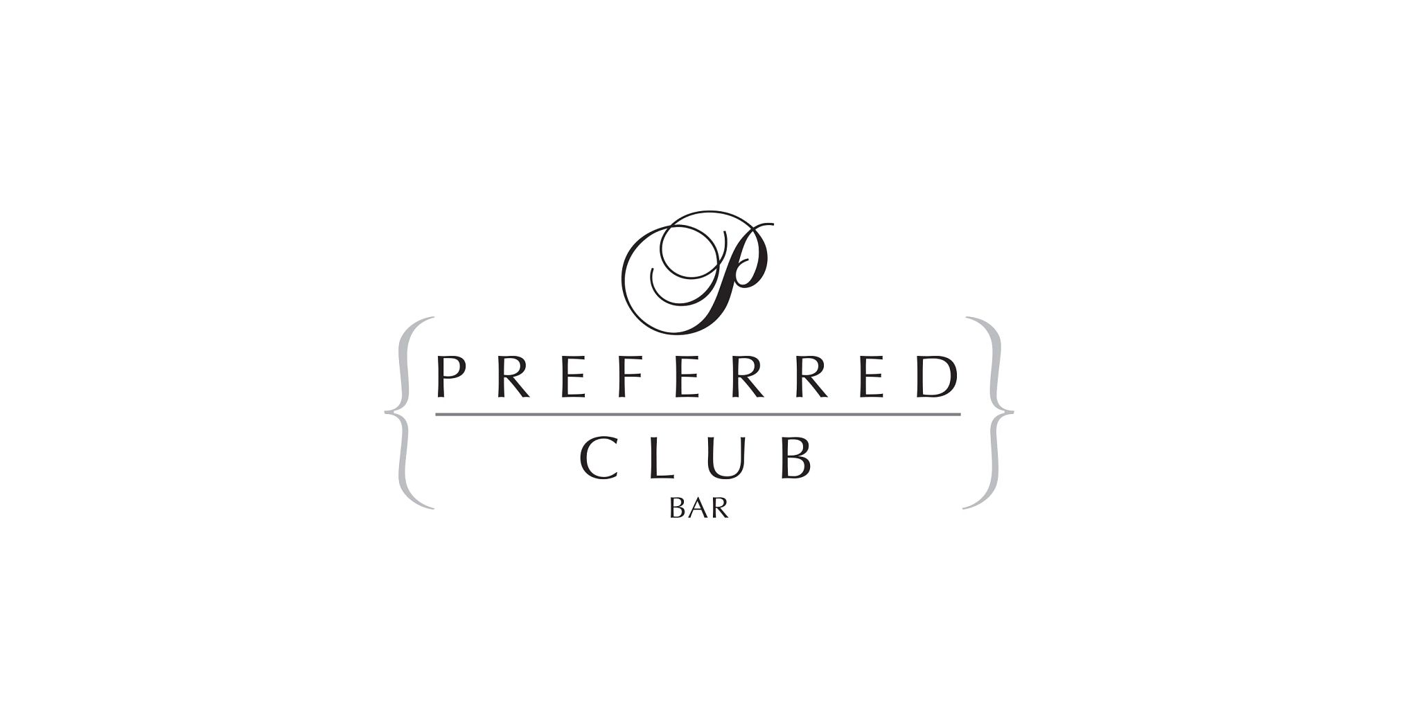 Preferred Club Bar Logo serving premium cocktails and food