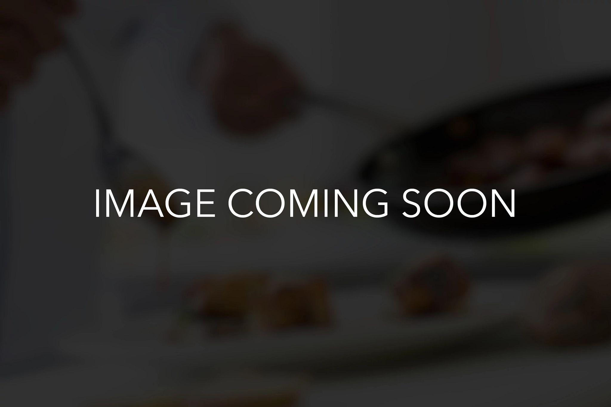 Coming soon image placeholder for restaurant